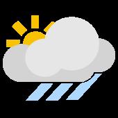 Es gibt viel Sonne aber einzelne Regenschauer sind möglich.